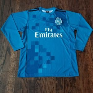 Real Madrid men's soccer Jersey